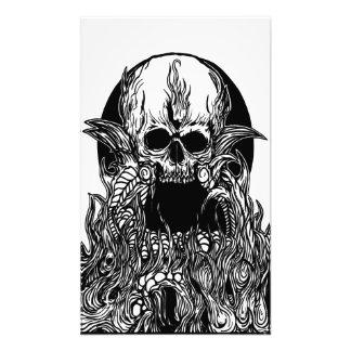 skull mantle photo print