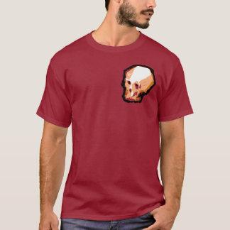 Skull (maroon) T-Shirt