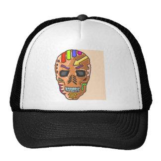 Skull Mask Painted Sketch Cap