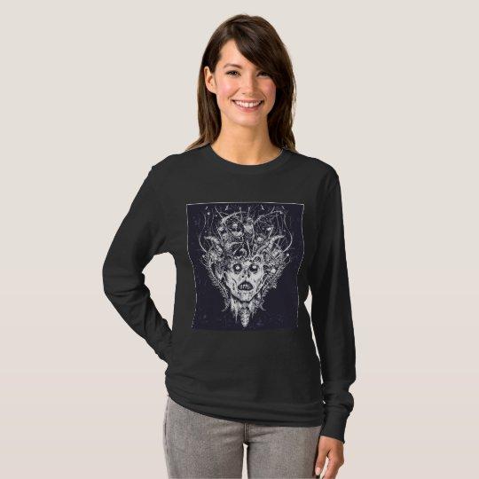 Skull Medusa Halloween T-Shirt