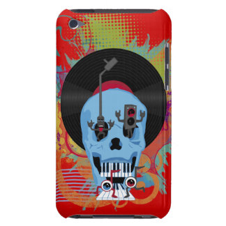 Skull Music and Weird Characters  Barely There iPod Cases