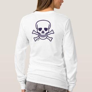 Skull n Bones women long sleeve shirt back