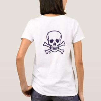 Skull n Bones women shirt back