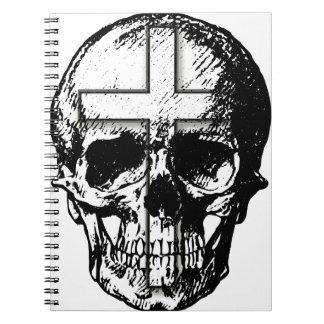 Skull n Cross Spiral Notebooks