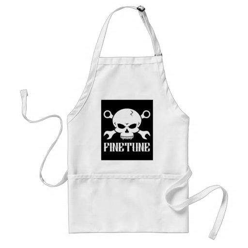 Skull 'n' Tools 2 - Finetune (white) Apron