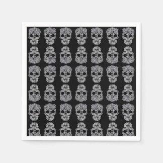Skull napkins. paper napkins