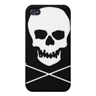 Skull & Needle iPhone Case iPhone 4 Cover