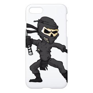 skull ninja cartoon. iPhone 7 case