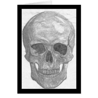 Skull notecard