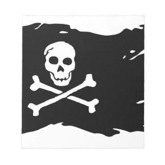 Skull Notepad