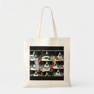 skull nowadays tote bag