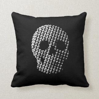 Skull of Skulls Throw Pillow