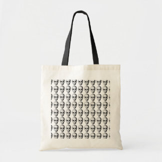 Skull Pattern in Black and White. Bag