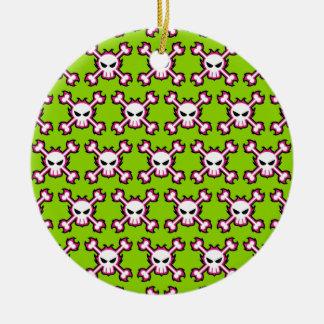 Skull Pattern Ornament