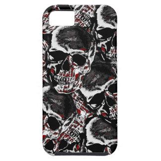 Skull pattern tough iPhone 5 case