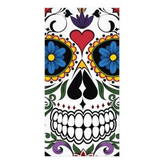 Skull Photo Greeting Card