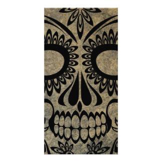 Skull Customised Photo Card