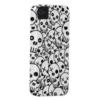 Skull Pile iPhone 4 Case