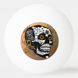 Skull Ping Pong Ball