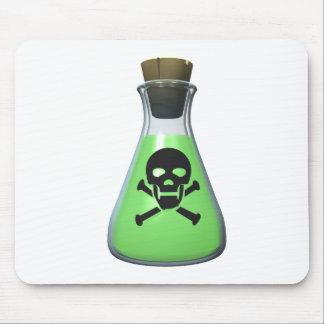 Skull Poison Bottle Mouse Pad