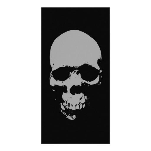 Skull Pop Art Photo Cards