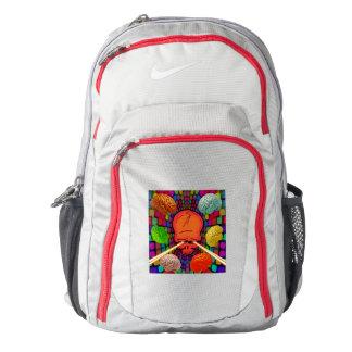 Skull Psychedelic Backpack