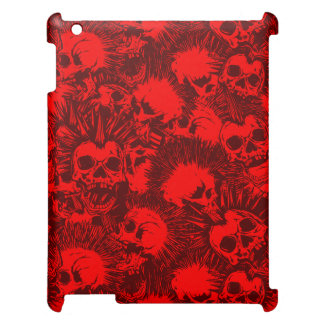 skull punk cover for the iPad 2 3 4