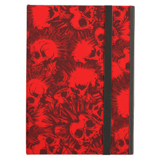 skull punk iPad air case
