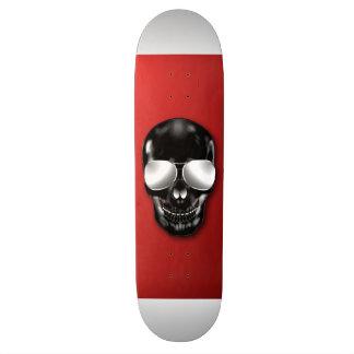 Skull Red Skateboard Deck