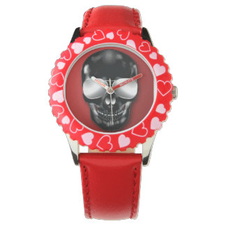 Skull Red watch
