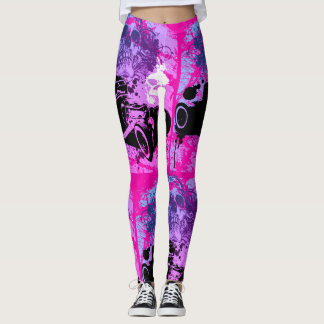 Skull Rod Leggings