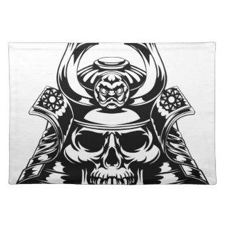 Skull Samurai Placemat