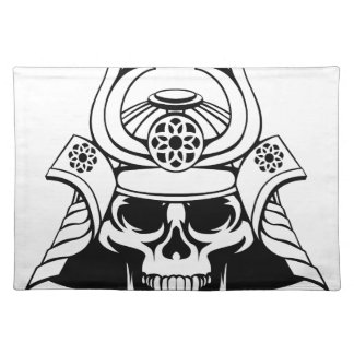Skull Samurai Warrior Placemat