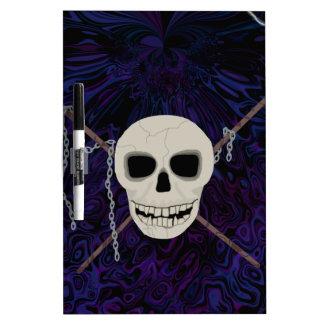 Skull & Scythes Dry Erase Board