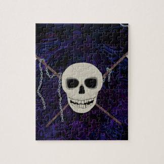Skull & Scythes Jigsaw Puzzle