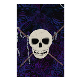 Skull & Scythes Stationery