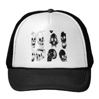 Skull set design trucker hat