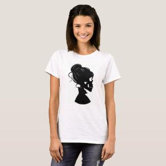 Skull Silhouette Women's T Shirt