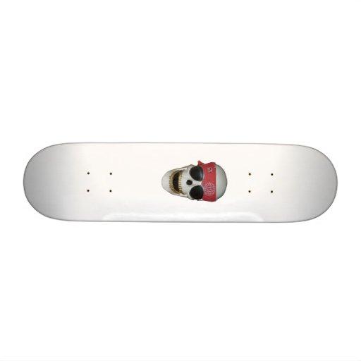 skull skateboard decks