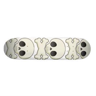 Skull. 20.6 Cm Skateboard Deck
