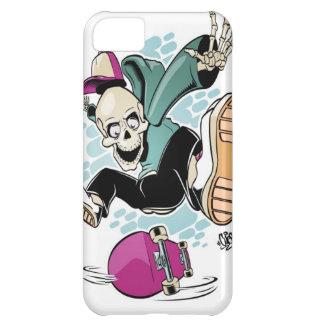 skull skateboard cartoon iPhone 5C case