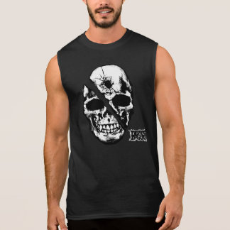 Skull Sleeveless Shirt