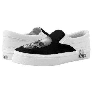 Skull Slip-On Shoes
