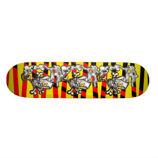 Skull Smoking Pipe Skateboard Decks