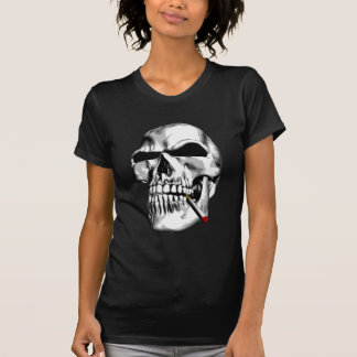 Skull Smoking T-Shirt