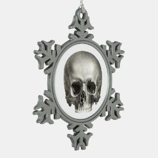 Skull Snowflake Ornament