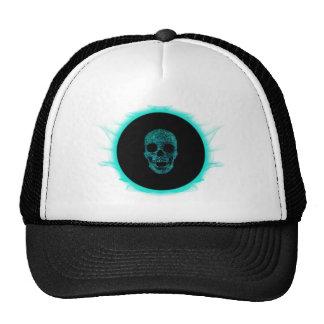 skull space mesh hat