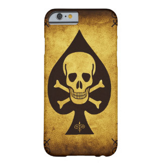 Skull & Spade Barely There Phone Case