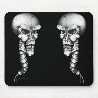 Skull & Spine Mouse Pad