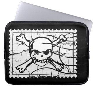 Skull Stamp 2 Laptop Computer Sleeve